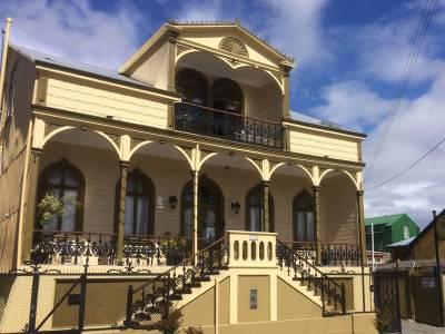 Traditionelles Holzhaus Valdivia