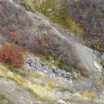 hinauf in alpine Berglandschaften